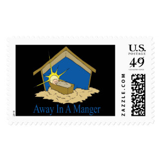 Away In A Manger Postage