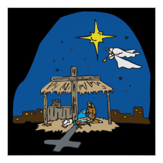 Away In A Manger Posters