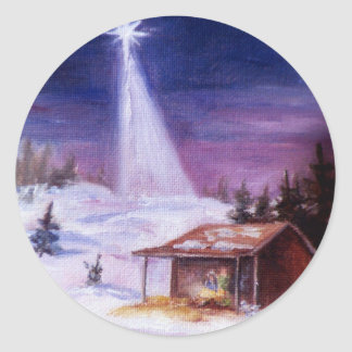 Away In a Manger Sticker