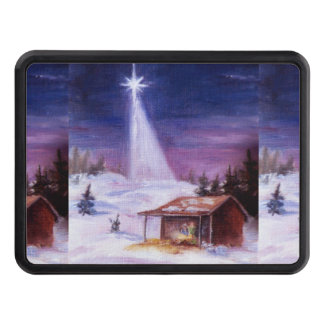 Away in a Manger Tow Hitch Cover