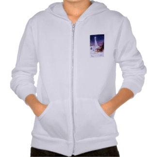 Away in a Manger Hooded Sweatshirts