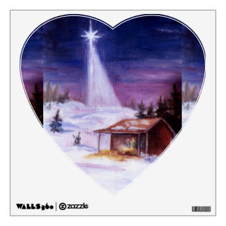 Away in a Manger Wall Sticker