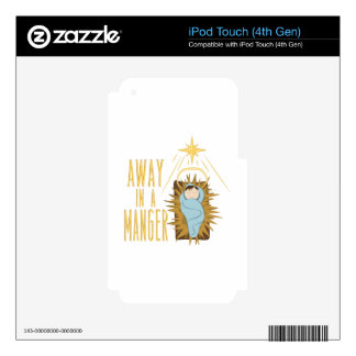 Away In Manger Skins For iPod Touch 4G