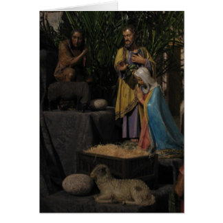 Away in the Manger Christmas Stationery Note Card