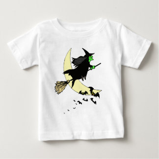Away on a Broom Baby T-Shirt