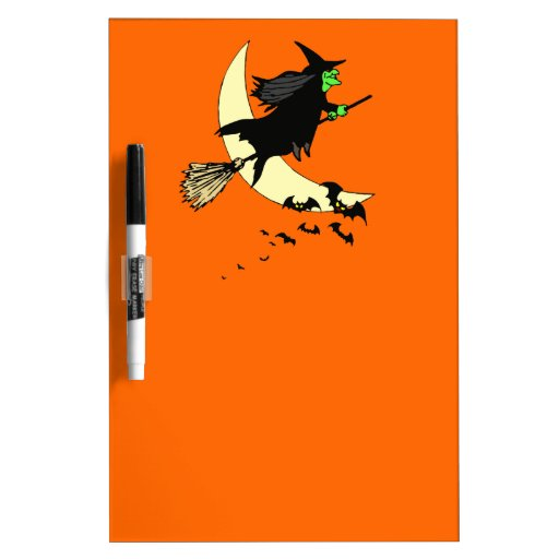 Away on a Broom Dry-Erase Boards