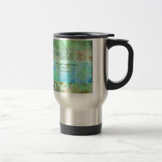 Away, you mouldy rogue, away! Shakespeare Insult Stainless Steel Travel Mug