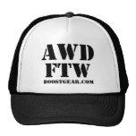 AWD - gorra del camionero de FTW por BoostGear.com