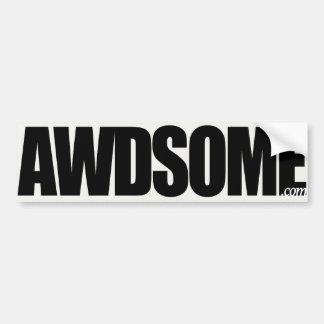 awdsome aspen white bumper stickers