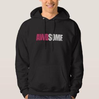awdsome black hoodie