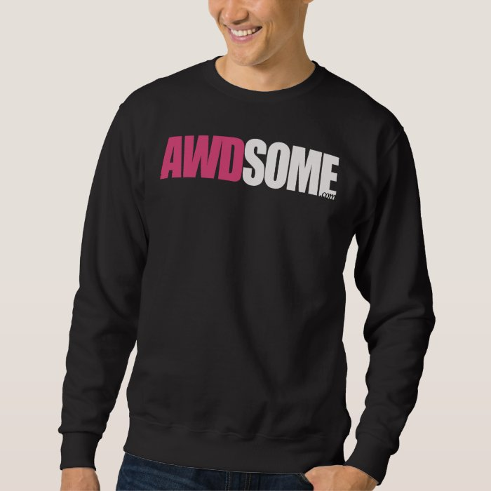 awdsome  black sweatshirt