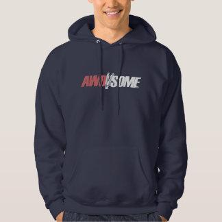 awdsome logo 3 hoody