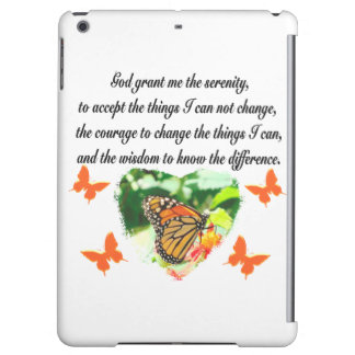 AWE INSPIRING BUTTERFLY SERENITY PRAYER PHOTO