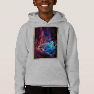 Awe-Inspiring Color Composite Star Nebula Hoodie