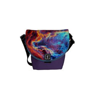 Awe-Inspiring Color Composite Star Nebula Messenger Bag