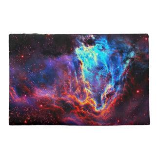 Awe-Inspiring Color Composite Star Nebula Travel Accessories Bag