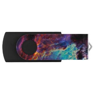 Awe-Inspiring Color Composite Star Nebula USB Flash Drive