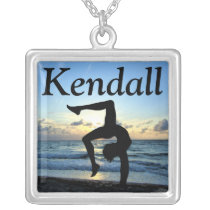 AWE-INSPIRING CUSTOM GYMNASTICS NECKLACE