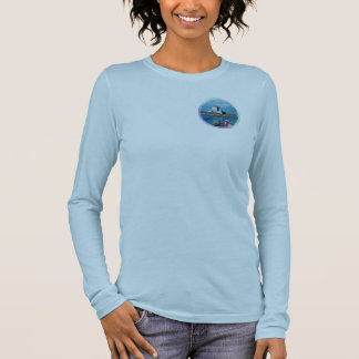 Awe Inspiring Dunguaire Castle Galway Bay Ireland Long Sleeve T-Shirt
