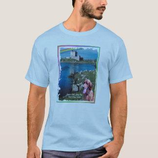 Awe Inspiring Dunguaire Castle Galway Bay Ireland T-Shirt
