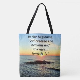 AWE-INSPIRING GENESIS 1:1 SUNRISE PHOTO DESIGN TOTE BAG