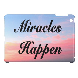 AWE INSPIRING MIRACLES HAPPEN SUNRISE PHOTO iPad MINI COVER