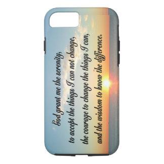 AWE INSPIRING SERENITY PRAYER DESIGN iPhone 8/7 CASE