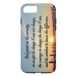 AWE-INSPIRING SERENITY PRAYER SUNSET PHOTO DESIGN iPhone 8/7 CASE