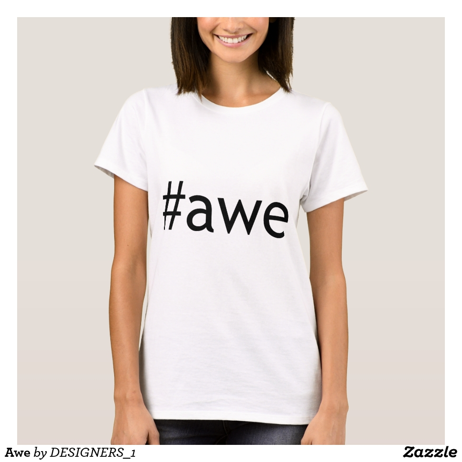 Awe T-Shirt - Best Selling Long-Sleeve Street Fashion Shirt Designs
