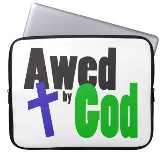 Awed by God Laptop Computer Sleeve