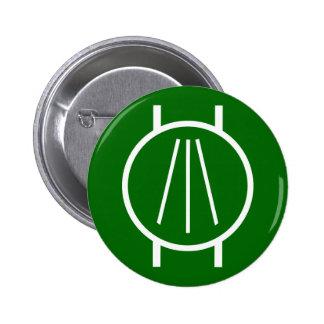 Awen on Blk Pinback Button