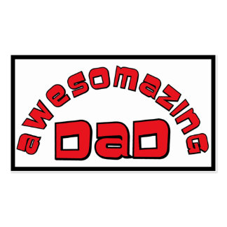 AWESOMAZING DAD 1 BUSINESS CARD