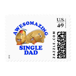 Awesomazing Single Dad - Father & Son Potatoes Postage