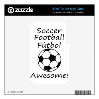 awesome3 iPod touch 4G decal