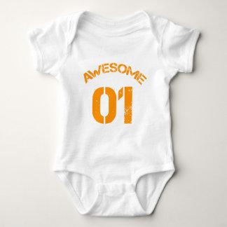 Awesome 01 Orange Lg Design Infant Creeper