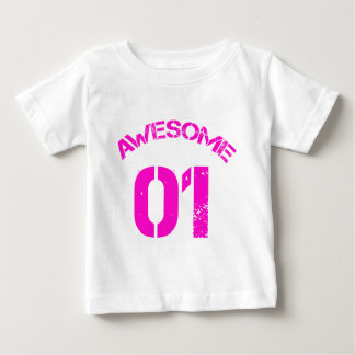 Awesome 01 Pink Lg Design Baby T-Shirt