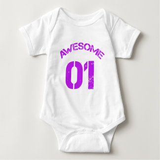 Awesome 01 Purple Lg Design Infant Creeper