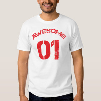 Awesome 01 Red Lg Design Shirt