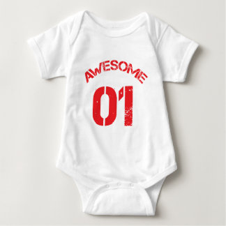 Awesome 01 Red Lg Design Tee Shirt