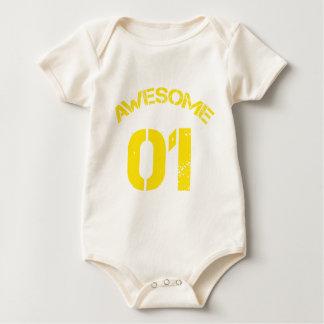 Awesome 01 Yellow Lg Design Bodysuit