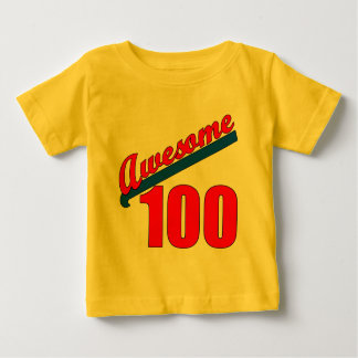 Awesome 100 Awesome at 100 Years Old Baby T-Shirt