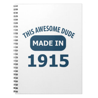 Awesome 100 year old birthday spiral notebook