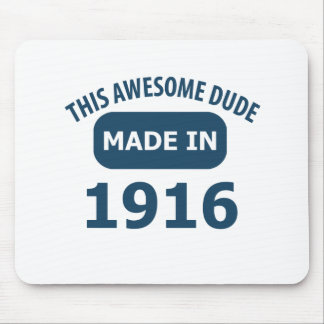 Awesome 101 year old birthday mouse pad