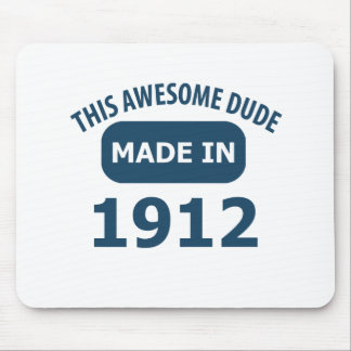 Awesome 102 year old birthday mouse pad