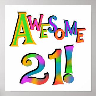 Happy 21st Birthday Posters | Zazzle