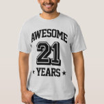 Awesome 21 Years Shirt
