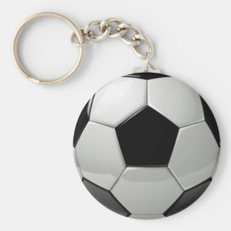 Awesome 3d Soccer Keychain