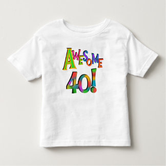 Awesome 40 Birthday T-shirts and Gifts