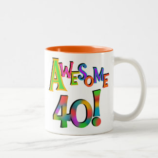 Awesome 40 Birthday T-shirts and Gifts Mugs