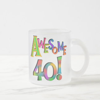 Awesome 40 Birthday T-shirts and Gifts Coffee Mugs